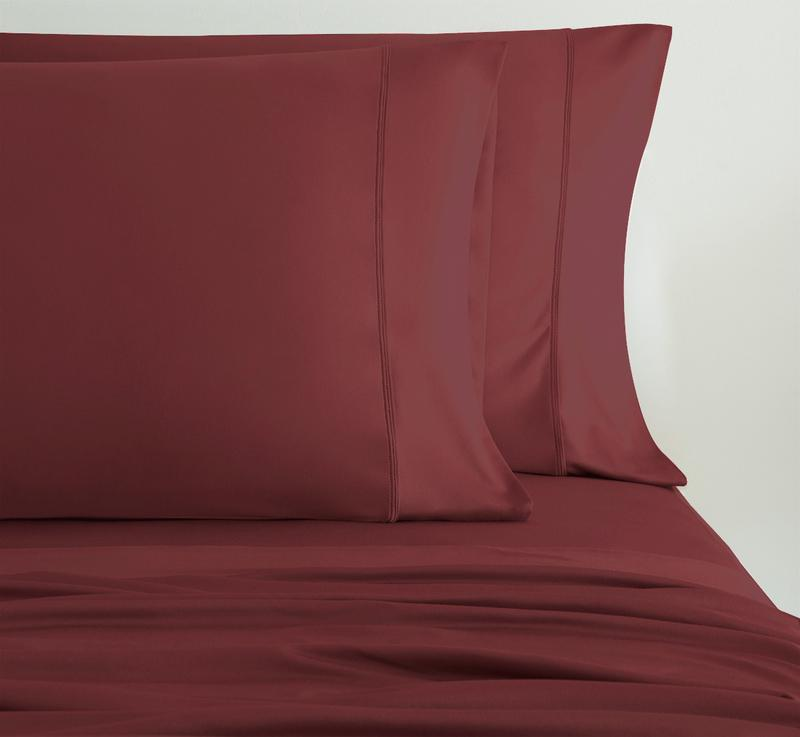 EXPERIENCE Pillowcases burgundy 2