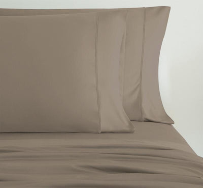 EXPERIENCE Pillowcases shown in taupe #choose-your-color_taupe