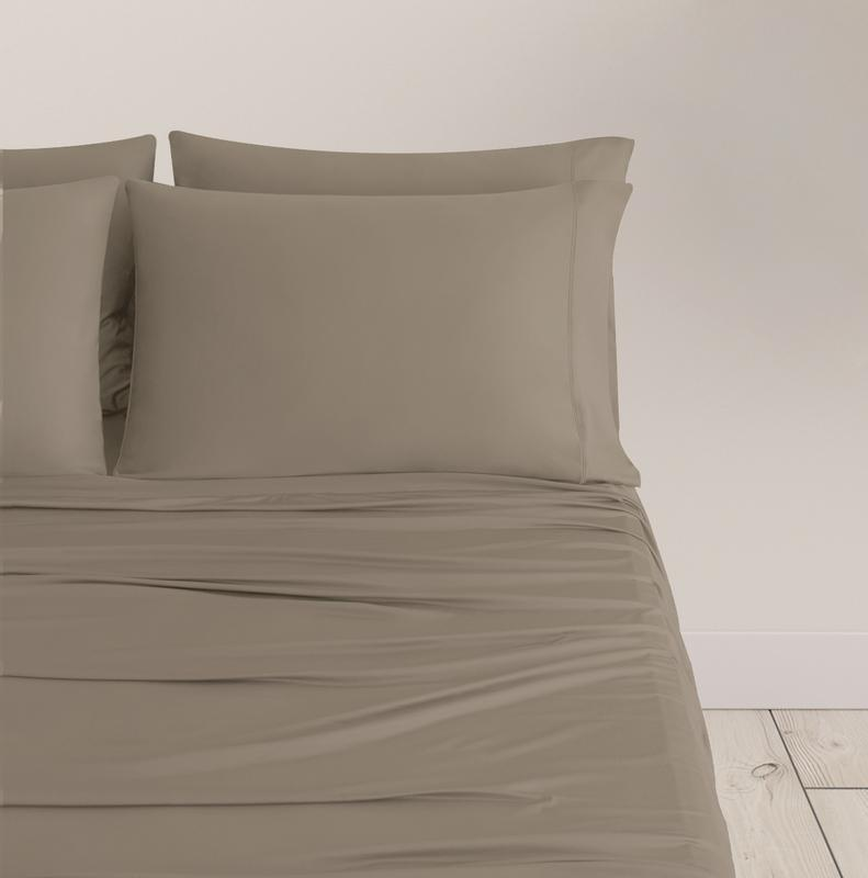 EXPERIENCE Pillowcases taupe 1