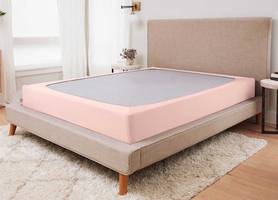 ORIGINAL PERFORMANCE Box Spring Wrap shown in blush-pink #choose-your-color_blush-pink