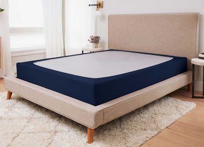 ORIGINAL PERFORMANCE Box Spring Wrap shown in navy #choose-your-color_navy