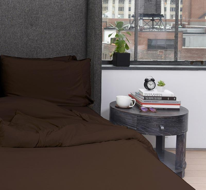 ONE COLLECTION Duvet Cover Espresso