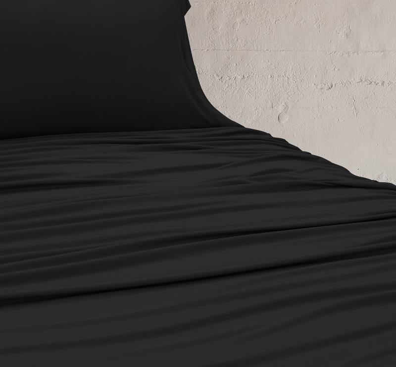 WOOL TECH Sheet Set black