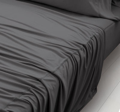 WOOL TECH Sheet Set charcoal