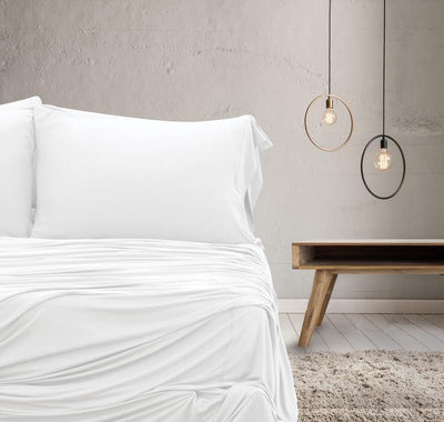 WOOL TECH Sheet Set white #choose-your-color_white