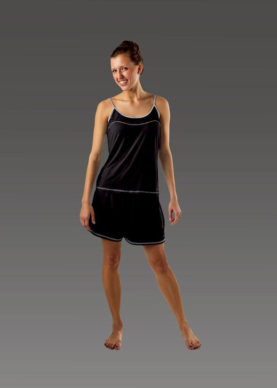 Women's Cami black front