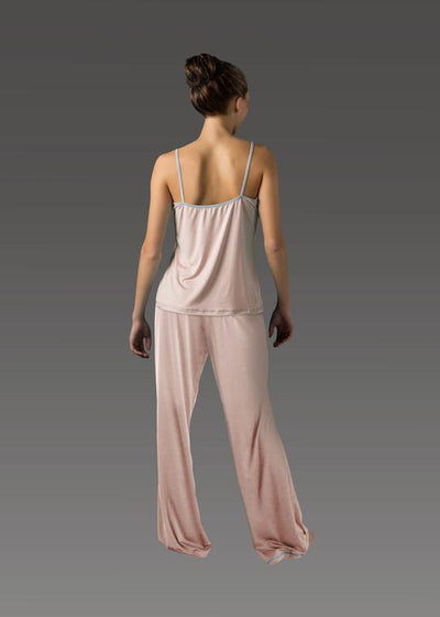 Women's Flare Pant soft-pink back