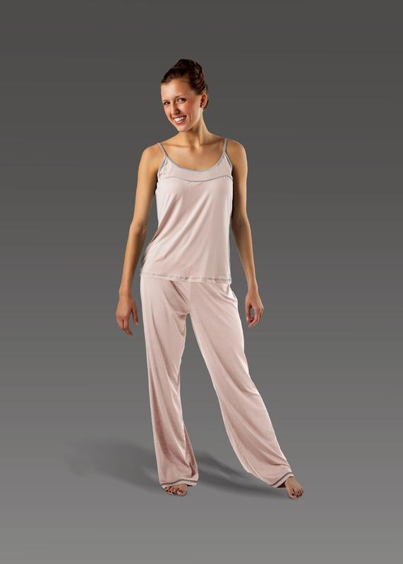 Women's Flare Pant soft-pink front