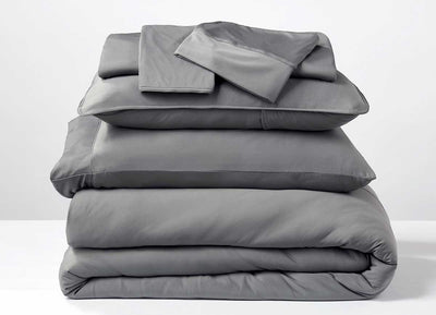 Studio Tech Bedding in Graphite in room environment #choose-your-color_graphite