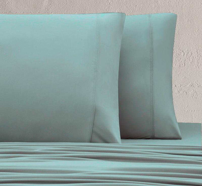 WOOL TECH Pillowcases green