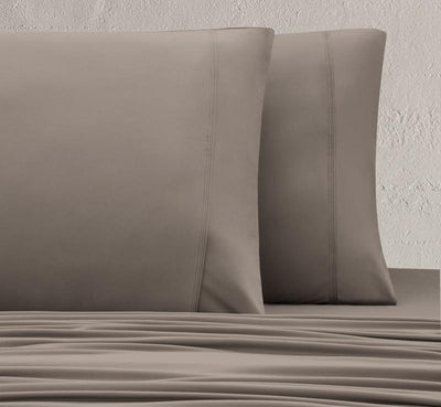 WOOL TECH Pillowcases taupe