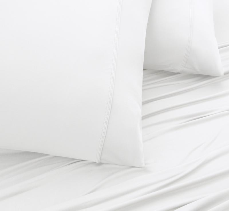 WOOL TECH Pillowcases white