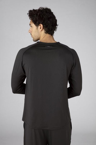 SHEEX Men's Long Sleeve Tee slate-black 2