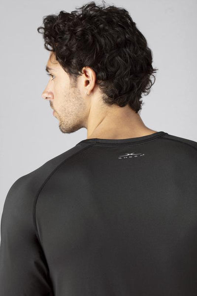 SHEEX Men's Long Sleeve Tee slate-black 4