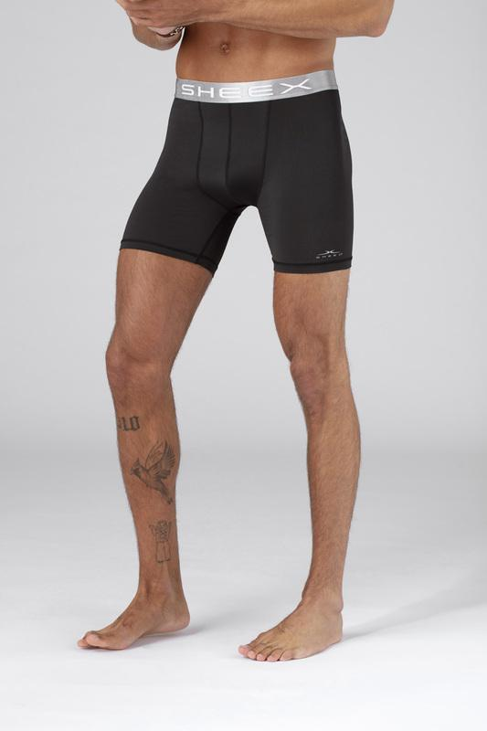 SHEEX Men's Boxer Brief black 2