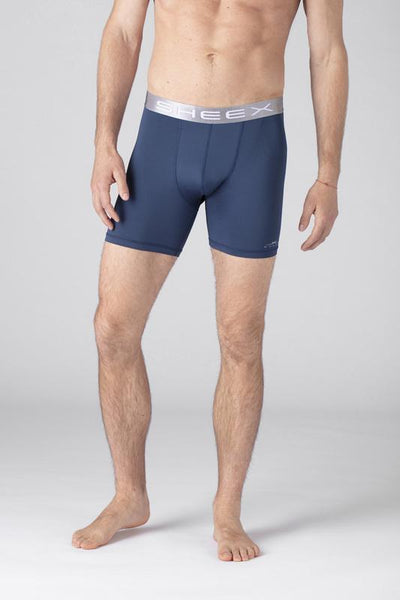 SHEEX Men's Boxer Brief slate-blue