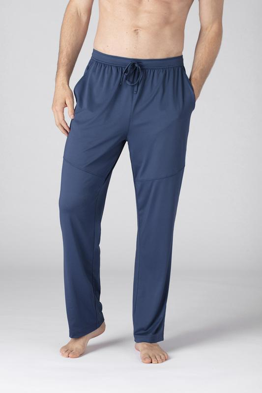 SHEEX Men's Relaxed Lounge Pant slate-blue