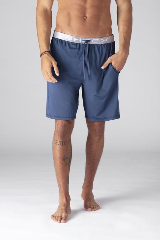 SHEEX Men's Lounge Short slate-blue