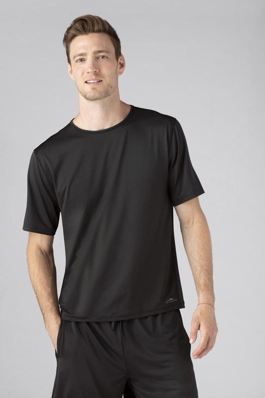 SHEEX Men's Short Sleeve Tee black