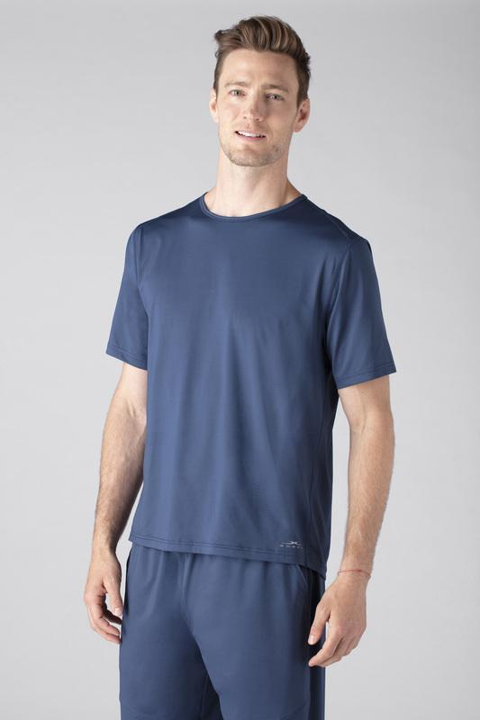 SHEEX Men's Short Sleeve Tee slate-blue