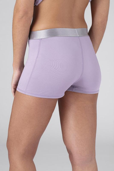 SHEEX Women's Boy Short lavender