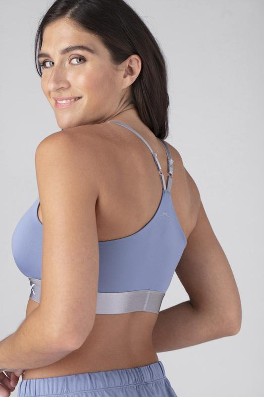 SHEEX Women's Bra Top light-blue