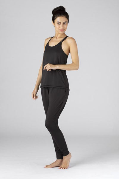 SHEEX WOMEN CROSS BACK CAMI black