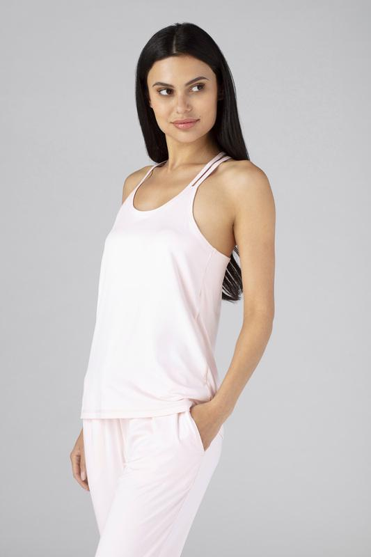 SHEEX WOMEN CROSS BACK CAMI blush-pink