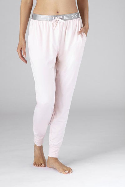 SHEEX Women's Modern Jogger shown in blush-pink #choose-your-color_blush-pink