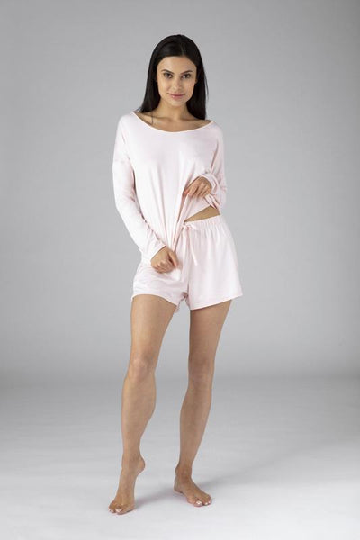 SHEEX Women's P.J. Shorts blush-pink