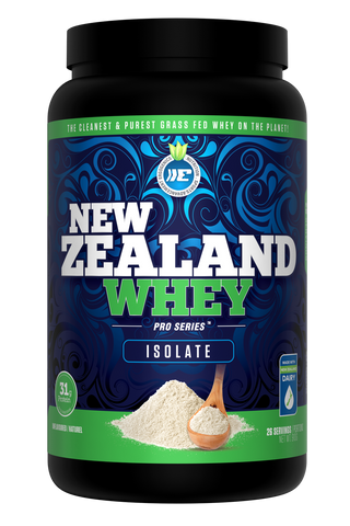 Ergogenics New Zealand Whey (Isolate) Protein - 910g Unflavoured