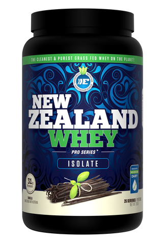 Ergogenics New Zealand Whey (Isolate) Protein - 910g Vanilla