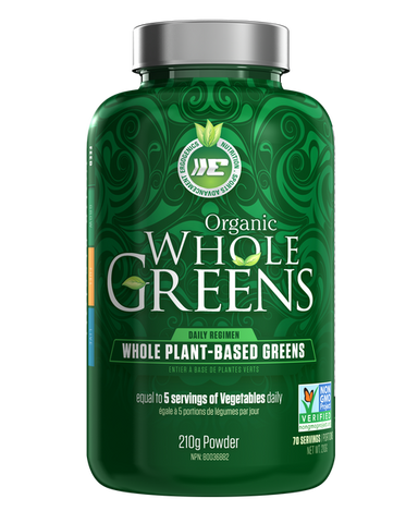 Ergogenics Organic Whole Greens - 210g Powder