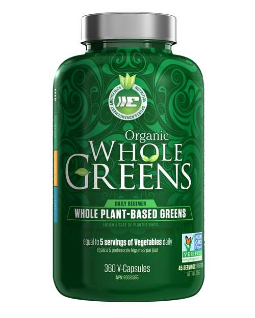 Ergogenics Organic Whole Greens Veggie Caps - 360VCaps