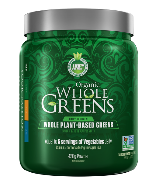 Ergogenics Organic Whole Greens Powder - 420g
