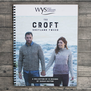WYS - The Croft - Shetland Tweed Pattern Book