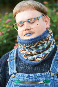 Chuska Cowl Yarn Kit - Pom Pom Issue 34