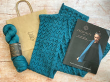 Load image into Gallery viewer, WYS Exquisite 4 ply - Yarn & Pattern Kit - Eve Fishtail Scarf