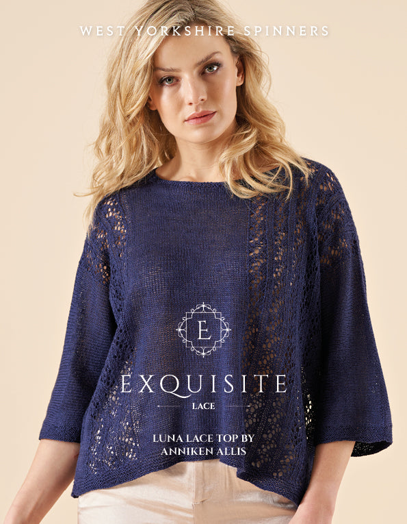 WYS Luna Lace Top Pattern for Exquisite Lace