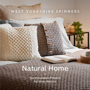 WYS Fleece Natural Home - Pattern Book