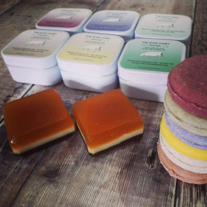 The Soap Dairy - Travel Light (shampoo & soap bar in a tin)
