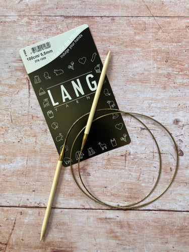 Addi Bamboo Circular Needles (Lang packaging)