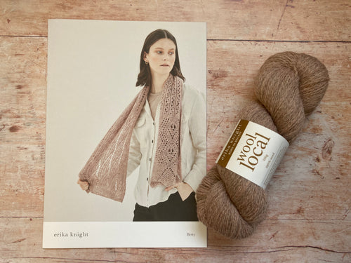 Erika Knight - Wool Local - 'Betty' Scarf Kit