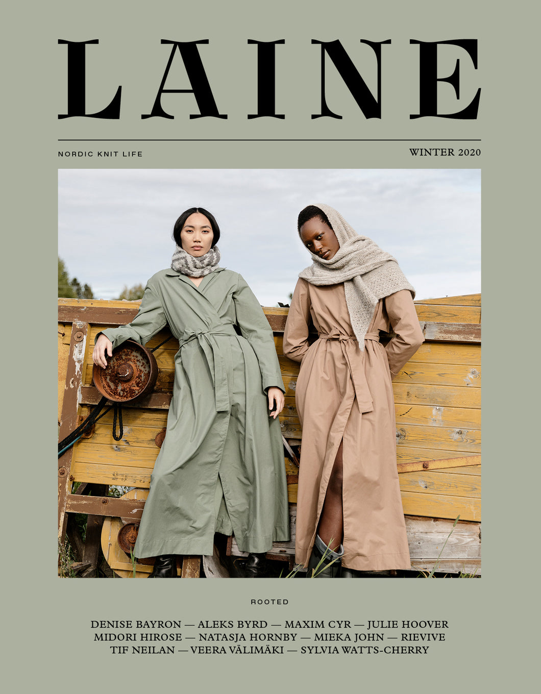 Laine - Issue 10 - Rooted **PREORDER - RELEASE DATE 11TH DECEMBER 2020**