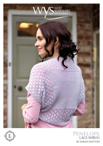 WYS Penelope Shrug - Individual Pattern for Exquisite Lace