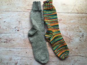 Beginners Sock Knitting