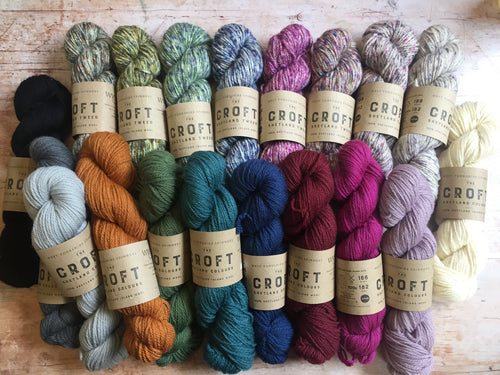 WYS The Croft - Shetland Colours