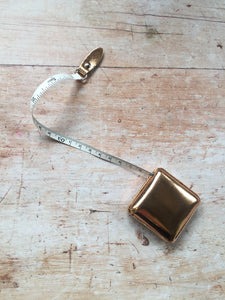 Rose Gold Shimmery Tape Measure