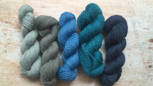 Doulton Border Leicester 4 ply Mini Skeins