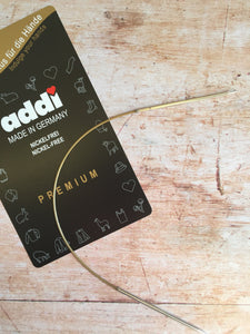 Addi Circular Needle (nickel free, metal tips)